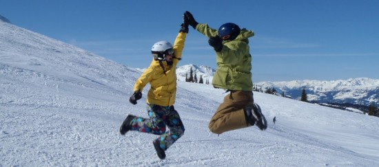 My cousin and me on Whistler
